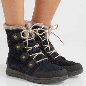 Sorel Explorer Joan Waterproof Booties